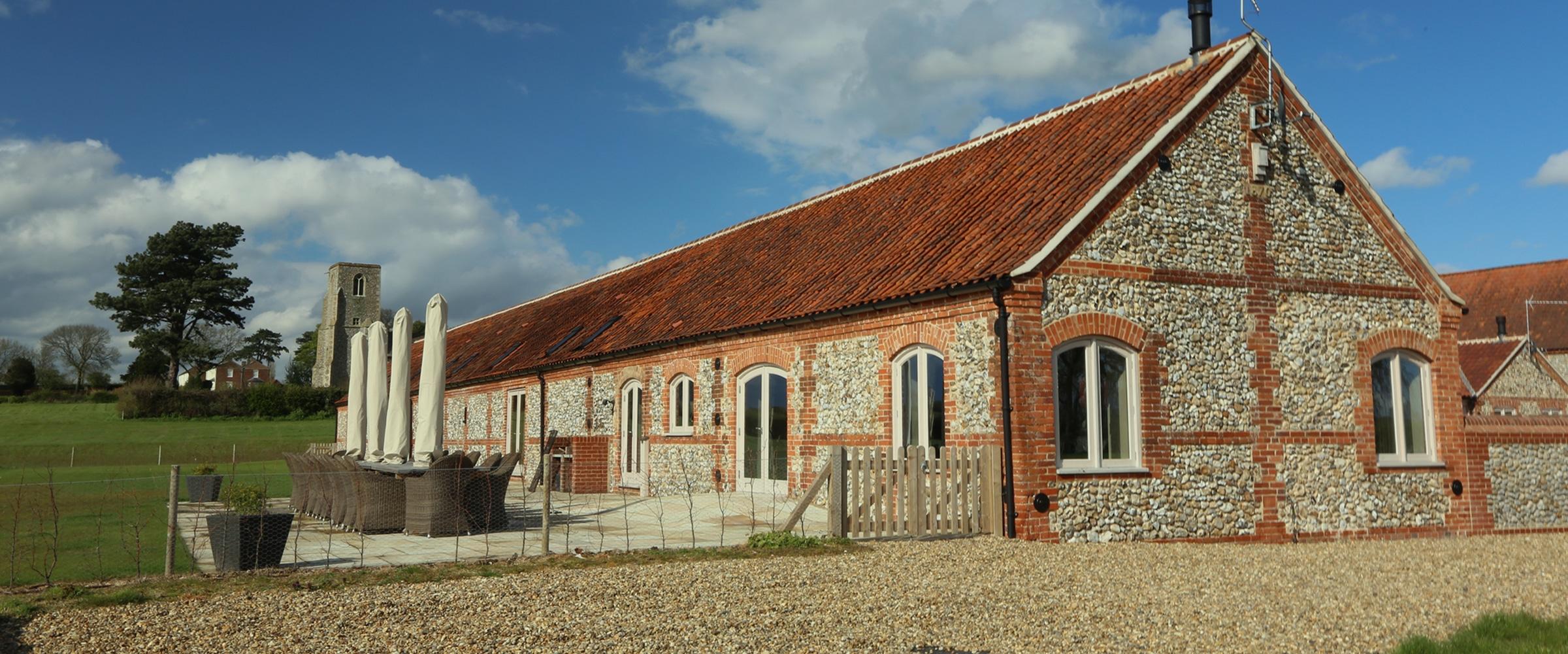 Brazenhall Barns - Side wall - Slider image