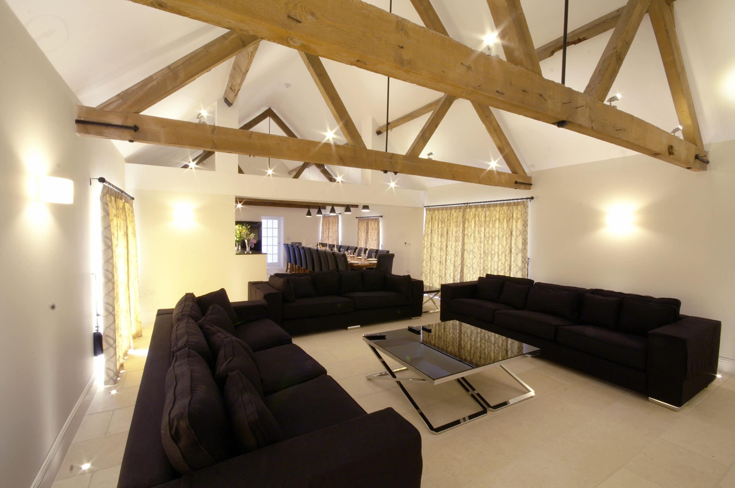 The Barn Living room slider image